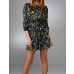 DVF Pialla silk dress